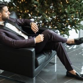 Wat draagt een echte gentleman tijdens de feestdagen