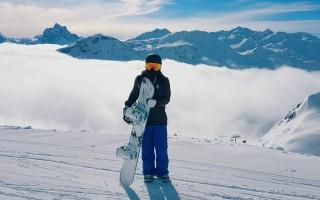Sporty ski-wear