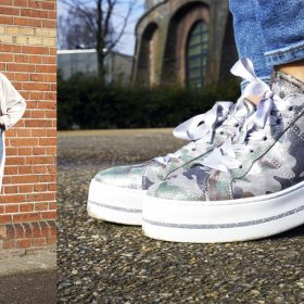 trend sneakers camouflageprint