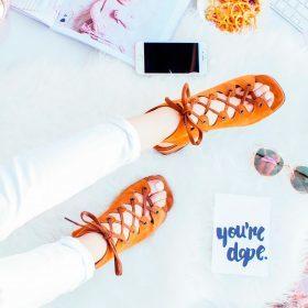 De sandalen trends van 2018