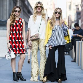 Dames flared broeken
