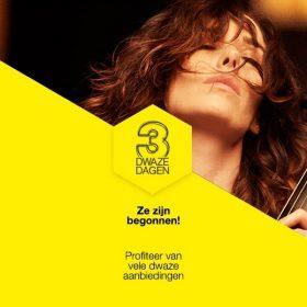 De Drie Dolle Dwaze Dagen Bijenkorf 2013 zijn begonnen!