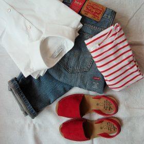 jeans zijstreep