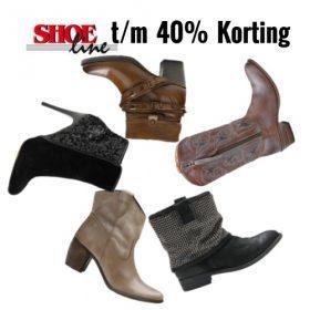Sale bij Shoeline