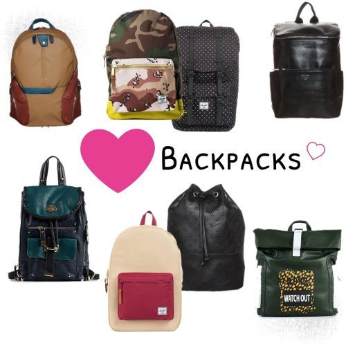 Backpacks are back!