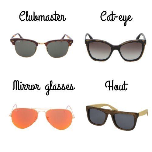 344efb3f8375cd Hippe zonnebrillen voor de lente zomer 2014