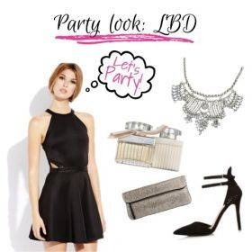 The little black dress, our party musthave!