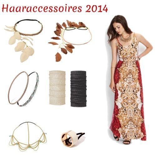 De haartrends en accessoires voor zomer 2014!   Kleding.nl 5f615fb997c