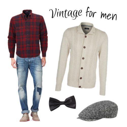 vintage look kleding
