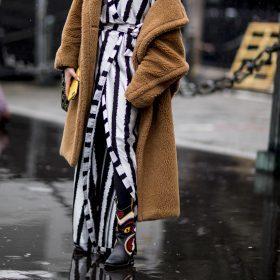 Lange teddy jas