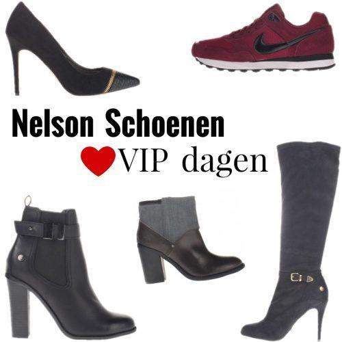 Vip Dagen bij Nelson Schoenen met 25% korting   Kleding.nl