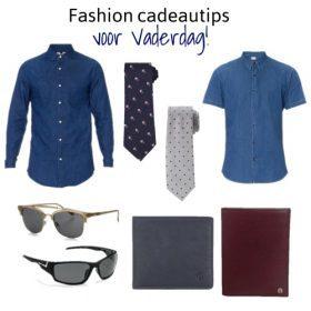 Fashion cadeautips voor vaderdag