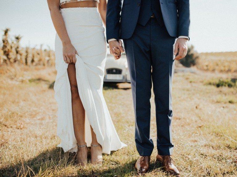 bruidskleding modern