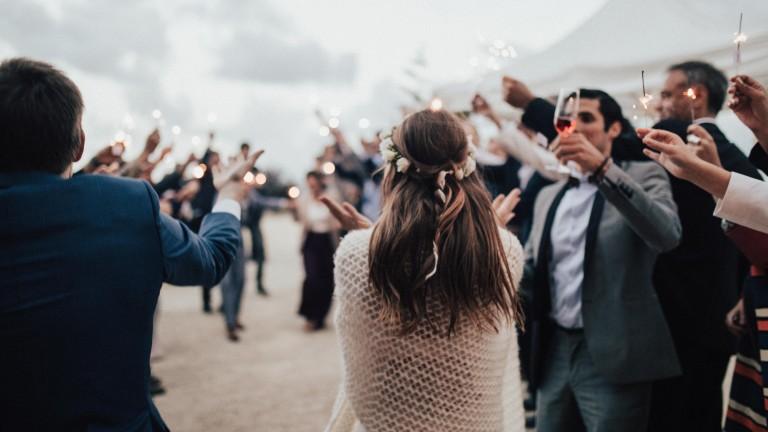 Een moderne bruiloft