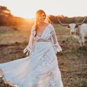 Goedkope jurken voor moderne bruiloft