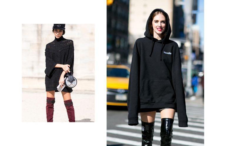 5 x tips - hoe combineer je de sweater dress?