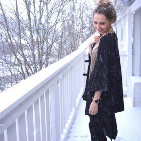 Dé perfecte combi voor New Years Eve van blogger Sabine