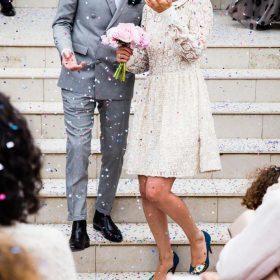Jurken waarmee je de bruid net niet overschaduwt