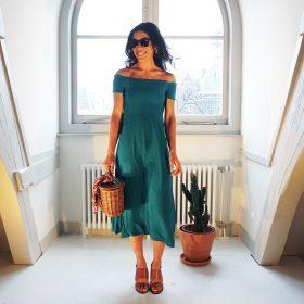 De jurk die je een hele zomer door wil dragen