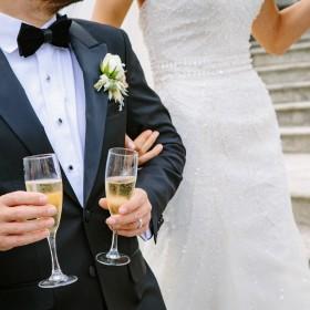 Heren colberts voor op een bruiloft