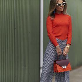 De modekleur voor de herfst 2017 is rood