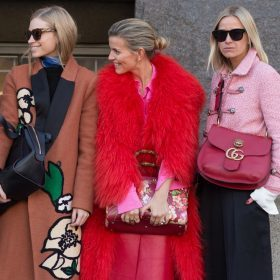 Pink power vrouwen
