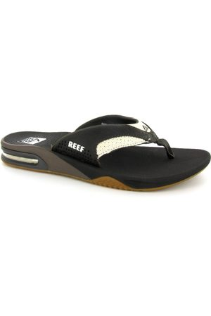 Heren Slippers - Reef Leather Fanning