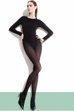 Dames Panty's & maillots - Paula Classic Tights in Black