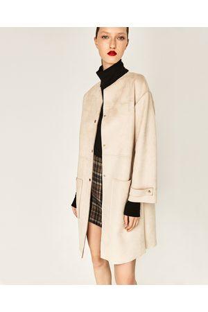 Dames Mantels - Zara JAS MET KUNSTSUÈDE TOUCH - In meer kleuren beschikbaar