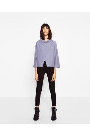 Dames Leggings & treggings - Zara LEGGING MET BREDE TAILLEBAND - In meer kleuren beschikbaar