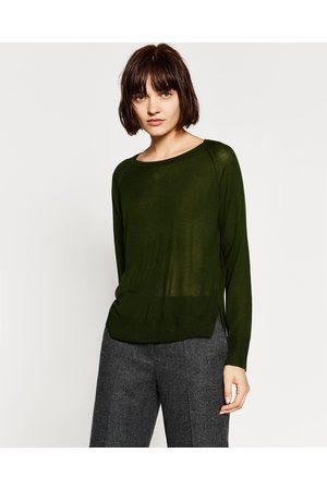 Dames Truien - Zara TRUI MET ZIJSPLITJES - In meer kleuren beschikbaar