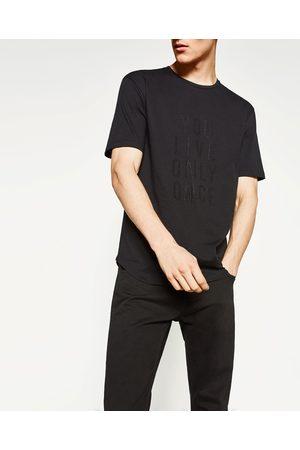 Heren Shirts - Zara T-SHIRT MET STUDS - In meer kleuren beschikbaar