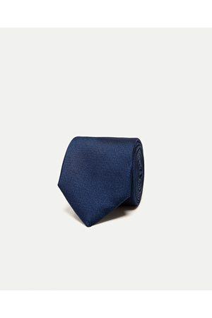 Heren Stropdassen - Zara BREDE SEMI-EFFEN STROPDAS - In meer kleuren beschikbaar