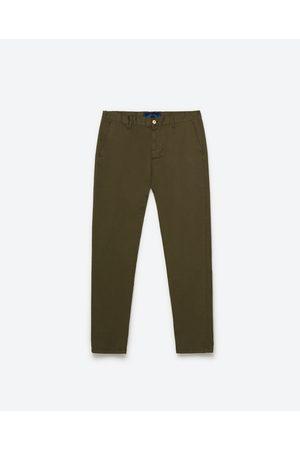 Heren Chino's - Zara BASIC CHINOBROEK - In meer kleuren beschikbaar