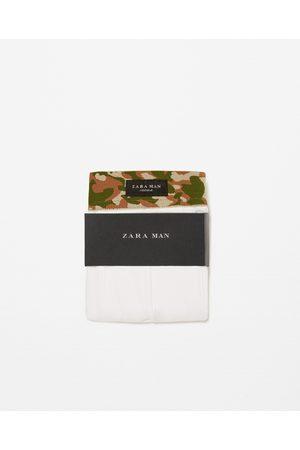 Heren Slips - Zara BOXERSHORT MET CAMOUFLAGEPRINT OP DE TAILLE - In meer kleuren beschikbaar