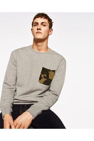 Heren Sweaters - Zara SWEATSHIRT MET ZAK - In meer kleuren beschikbaar