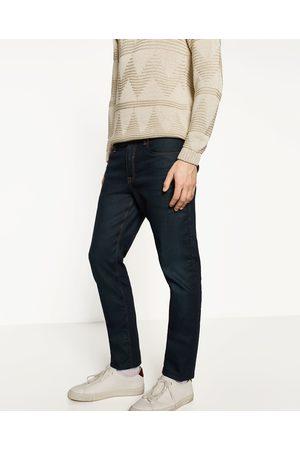 Heren Slim & Skinny broeken - Zara BASIC DENIM BROEK IN SLIM FIT - In meer kleuren beschikbaar