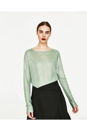 Dames Truien - Zara TRUI MET FOIL - In meer kleuren beschikbaar