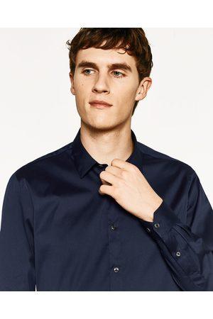 Heren Overhemden - Zara OVERHEMD MET OVERHEMDKRAAG - In meer kleuren beschikbaar