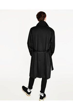 Heren Trenchcoats - Zara OVERSIZED TECHNISCHE TRENCHCOAT
