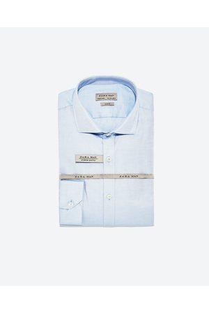 Heren Overhemden - Zara DIAGONAAL OVERHEMD PREMIUM - In meer kleuren beschikbaar