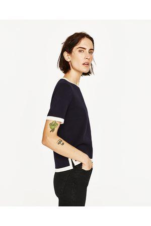 Dames Truien - Zara TRUI MET KORTE MOUWEN - In meer kleuren beschikbaar