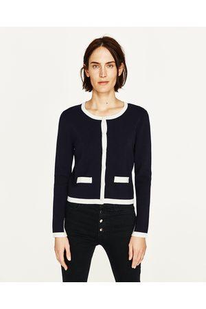 Dames Vesten - Zara TRICOT VEST - In meer kleuren beschikbaar