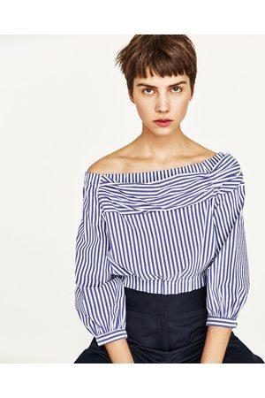 blote schouder blouse