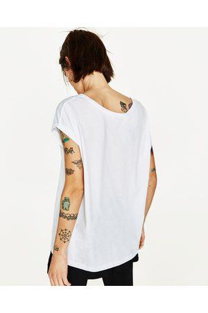 Dames Shirts - Zara T-SHIRT MET KORTE MOUWEN - In meer kleuren beschikbaar