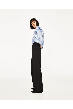Dames Wijde broeken - Zara WIJDE BROEK - In meer kleuren beschikbaar