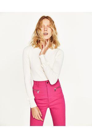 Dames Truien - Zara TRUI MET VOLANTMOUWEN - In meer kleuren beschikbaar