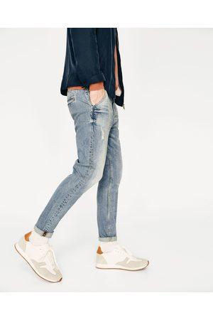 Heren Jeans - Zara CROPPED DENIM CARROT MODEL - In meer kleuren beschikbaar