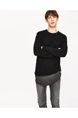Heren Shirts - Zara DUBBEL T-SHIRT UIT DE DARK-COLLECTIE