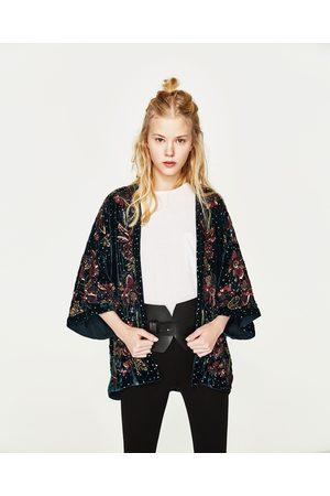 Dames Kimono's - Zara KIMONO MET LOVERTJES